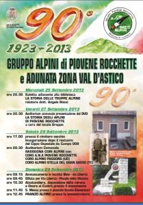 Programma 90 Gruppo Alpini di Piovene Rocchette