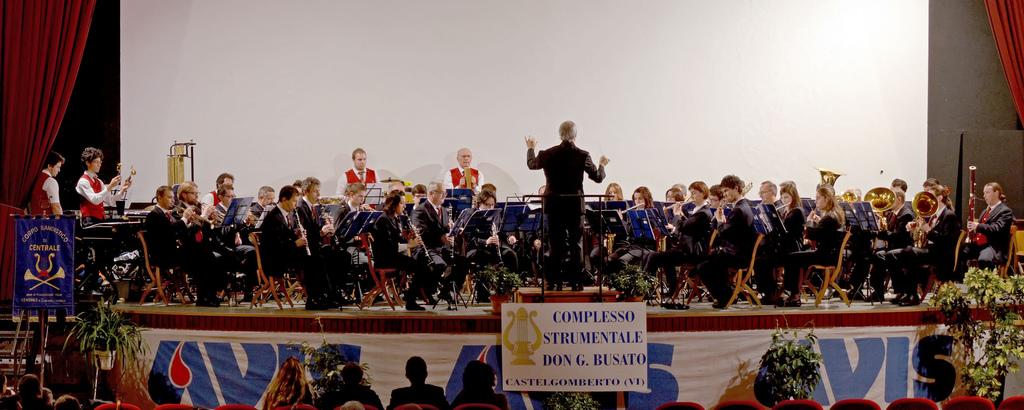 Concerto Gemellaggio di S. Cecilia a Castelgomberto - 1
