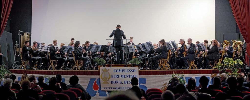 Concerto Gemellaggio di S. Cecilia a Castelgomberto - 2