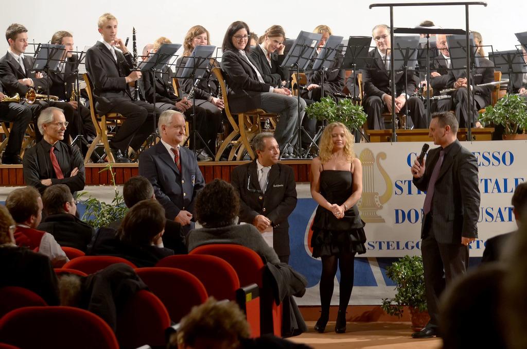 Concerto Gemellaggio di S. Cecilia a Castelgomberto - 3