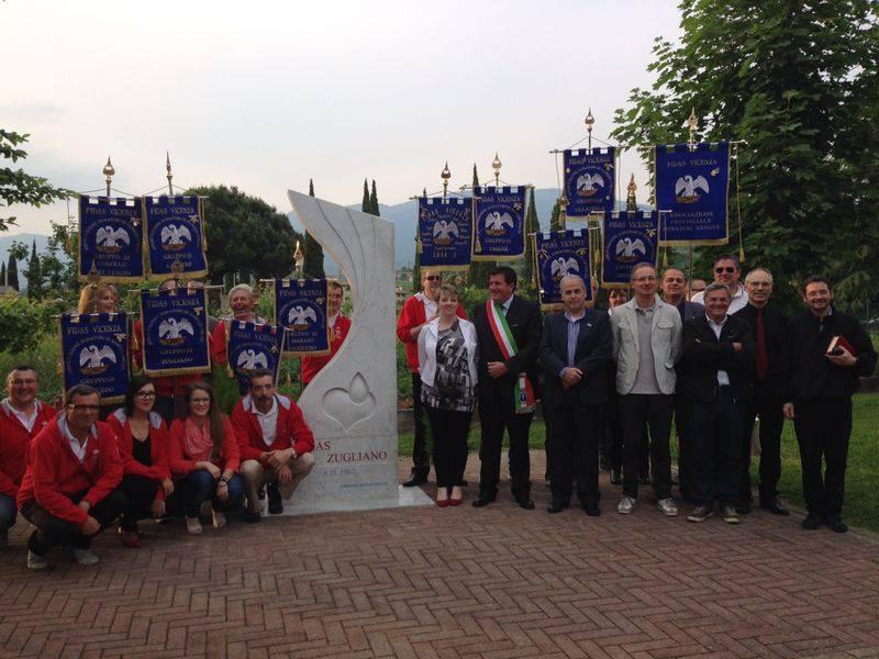 Inaugurazione del monumento ai Donatori di Sangue - 10-05-2014 - 3