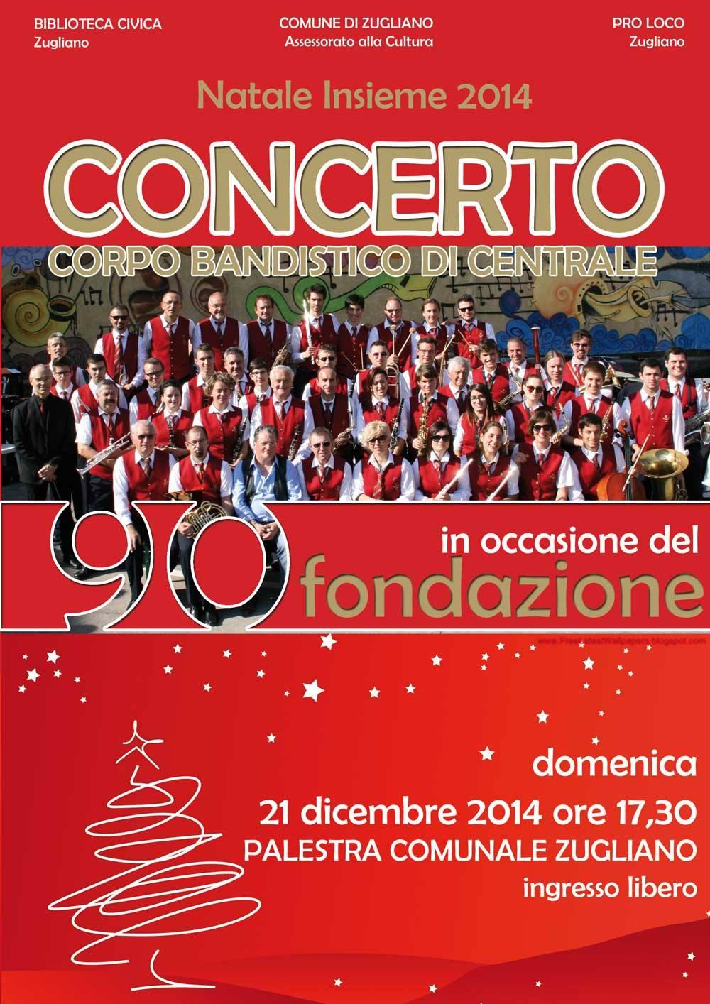 Locandina Concerto del 90°