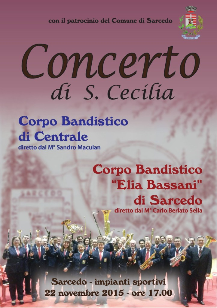 Concerto di S. Cecilia 22-11-2015